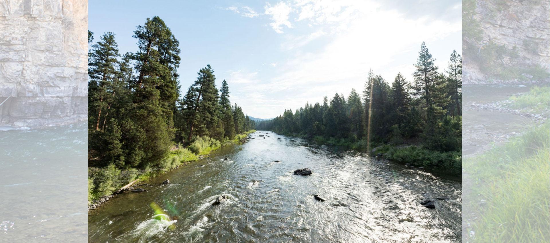The Blackfoot River in Montana