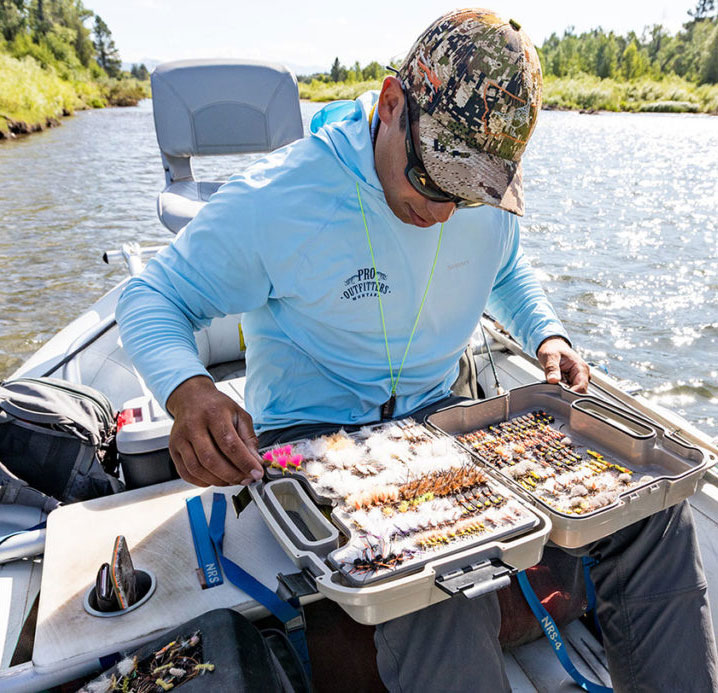 A Pro Outfitters Guide Picking the Perfect Fly for a Guest