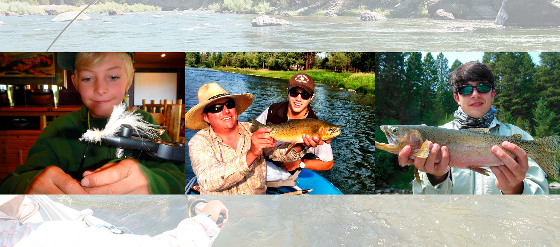 Pro Outfitters offers a Kids Fly Fishing Camp in Montana