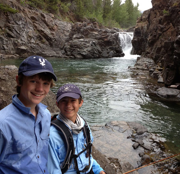 Pro Outfitters offers a Fly Fishing Kids Camp in Montana